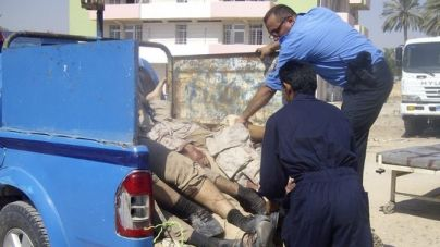 irakische terroristen setzen behinderte als. Black Bedroom Furniture Sets. Home Design Ideas