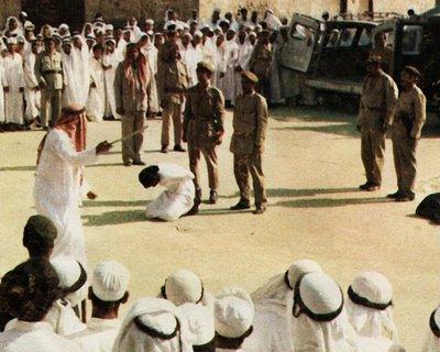 Öffentliche Enthauptung eines Mädchens (Saudi-Arabien, 2010)