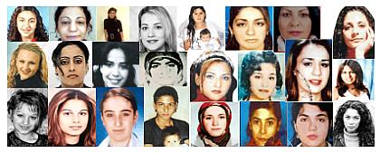 Vrasjet dhe masakrimet e femrave me ligjet islame 1-a-ehrenmorde-liste_der_schande