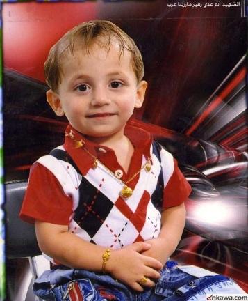 Der dreijährige Adam war eines der Opfer des moslemischen Anschlags auf die irakischen Christen in Bagdad