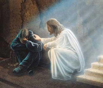 Tristes palabras. Gebetskarte-der-troester-ne
