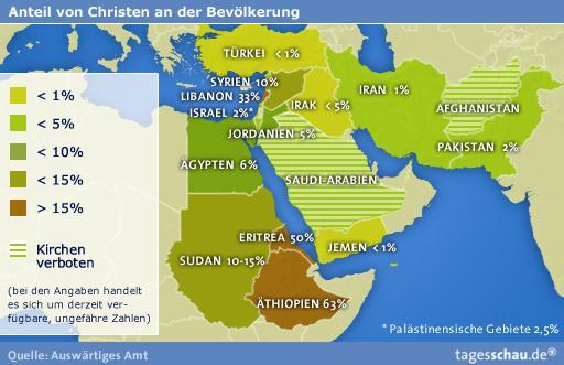 Karte Naher Osten Israel.Letzte Zuflucht Bleibt Israel Kopten Ohne Grenzen
