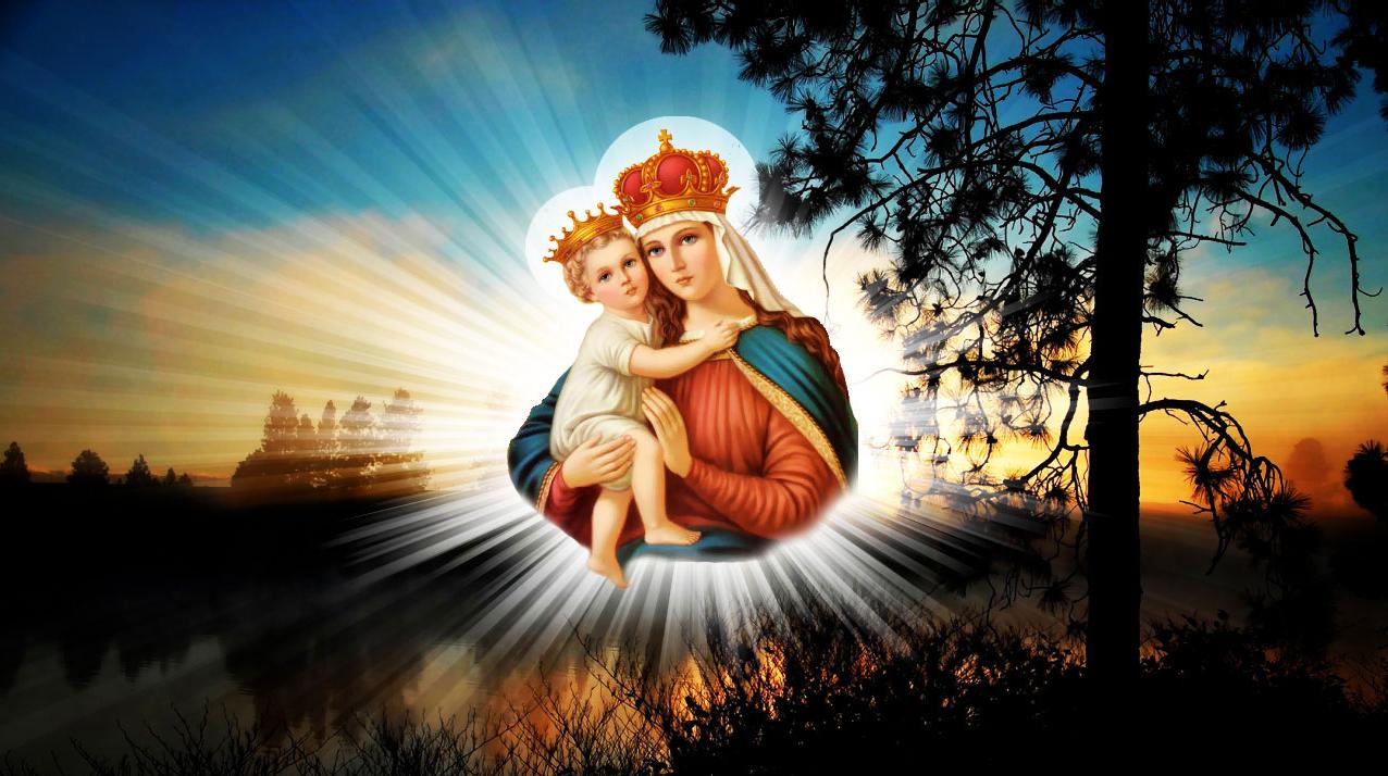 Heil Heiliger Maria Mutter Heiliger Jungfrau
