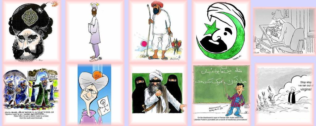 Karikatur Von Mohammed
