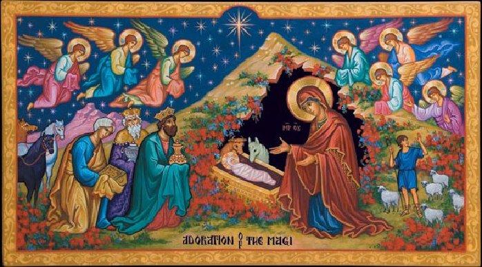 Weihnachten Orthodox.Weihnachten Orthodox Nacht Des Herrn