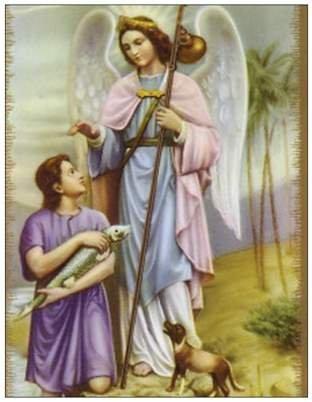 Der Engel Raphael sagte zu dem Jungen tobias