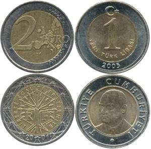 0 a 1 Türkischer Euro