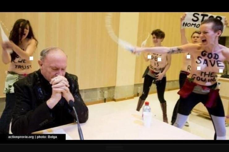 Femen in belgien