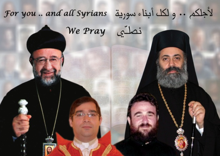 0 a 1 kidnapped bishops and clergys and civil people Aleppo