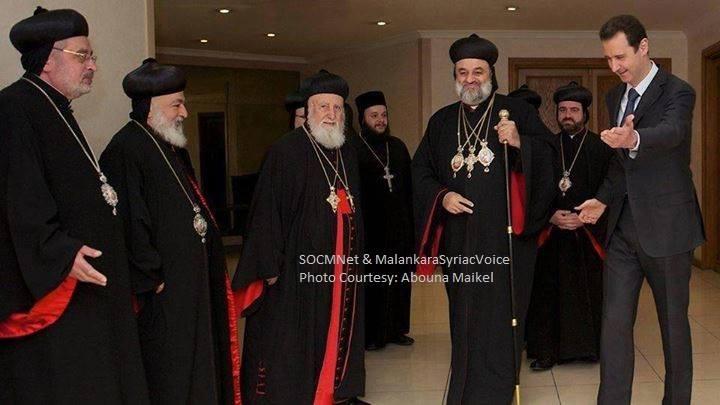 Neuer Patriarch mit Baschar