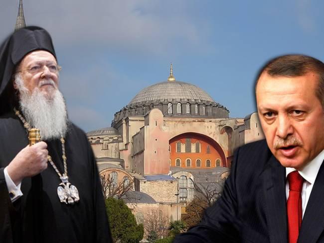 Erdowahn provoziert Griechenland