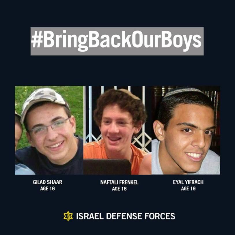 Entführte Israelis
