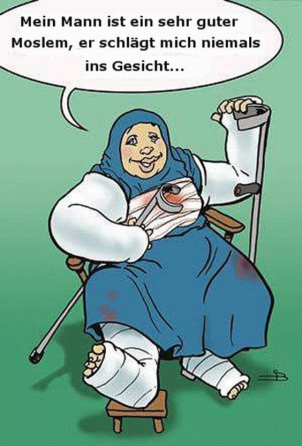 Islam ehrt die Frau