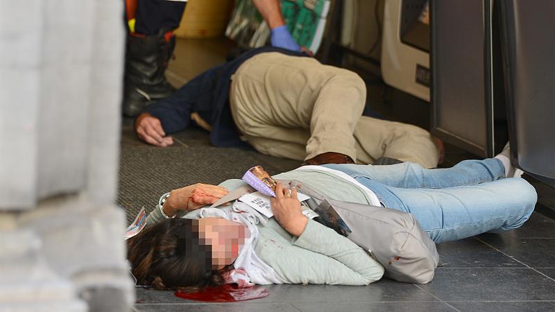 Opfer des Attentats von Brüssel
