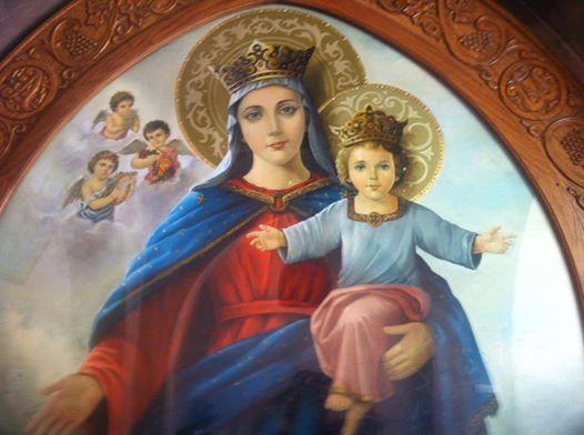 Hl. Maria - Ikone