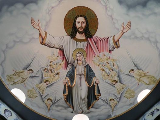 Hl. Maria - Kuppel