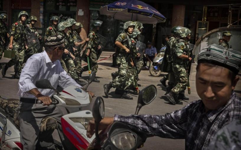 Uigurische Moslems
