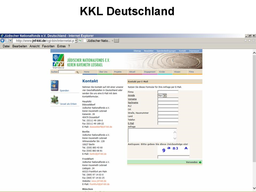 KKL Deutschland