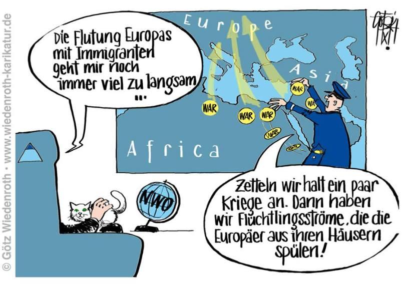 Asyl, Kriege anzetteln