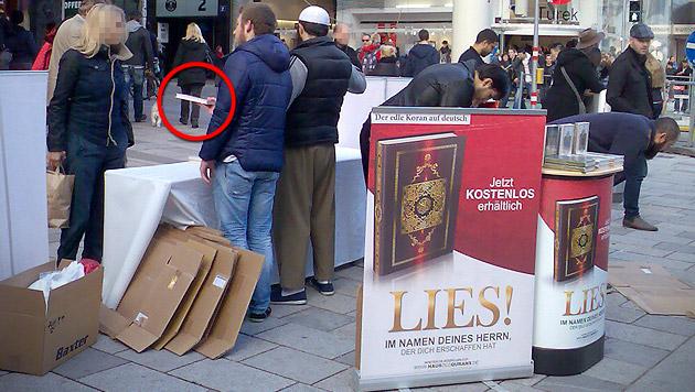 Koran-Verteilung