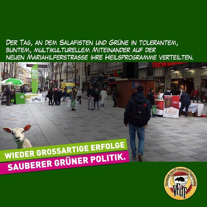 Koranverteilung in Wien