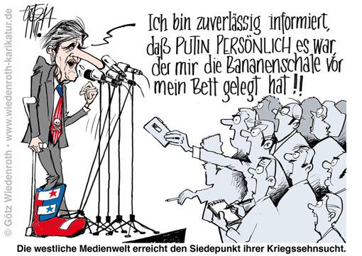 Ukraine USA-Kerry Lügenproduktion Kriegstreiberei