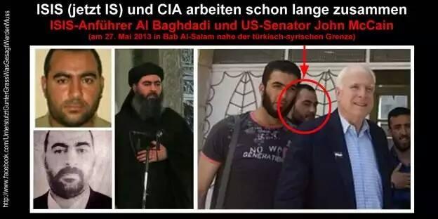 IS und CIA