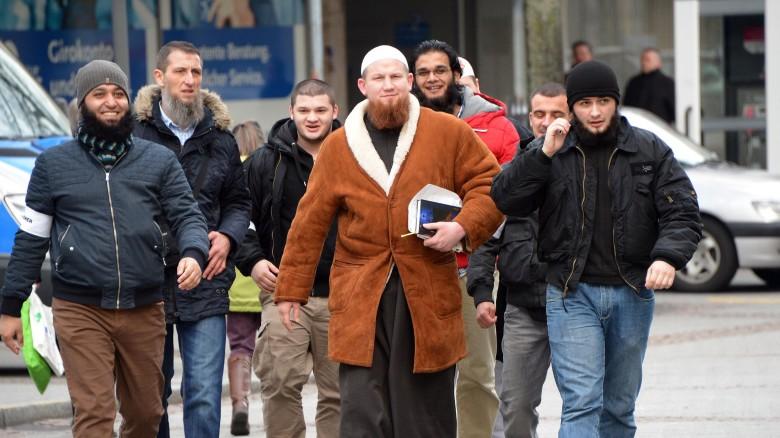 Salafisten-Kundgebung-in-Pforzheim