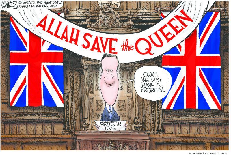 Allah und die Queen