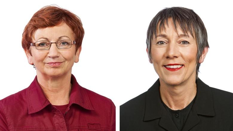 Inge Höger und Annette Groth