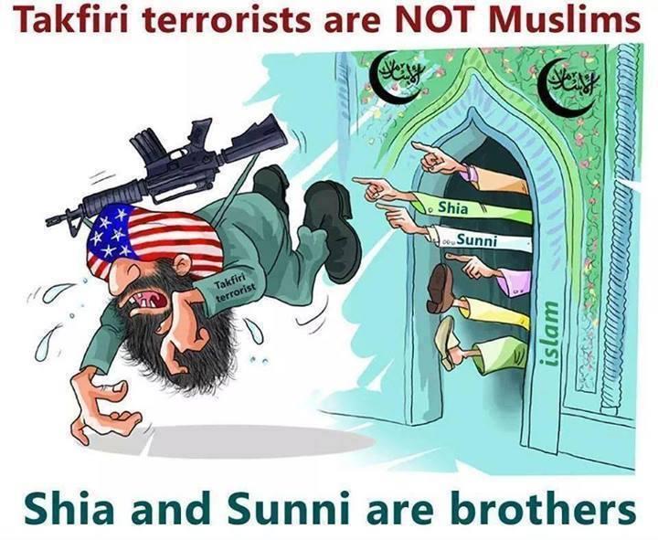 Schiiten und Sunniten haben sich lieb