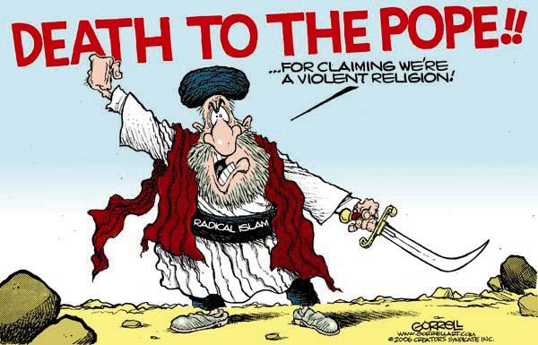 Tod dem Papst