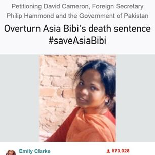 #saveAsiaBibi #petition #deathsentence #sign #change #Christianity #pakistan #prison #blasfemia #save #life link in comment  - catholicmum via Instagram