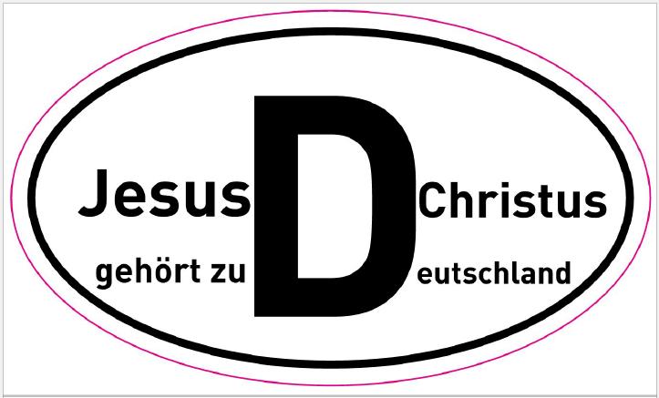 Christus gehört zu Deutschland