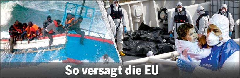 900 Tote im Mittelmeer
