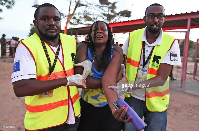 Al-Schabab Terroristen in Kenya