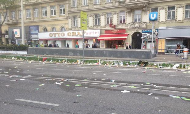 Hanf-Demo in Wien