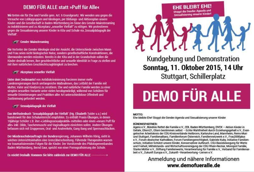 Demo für alle