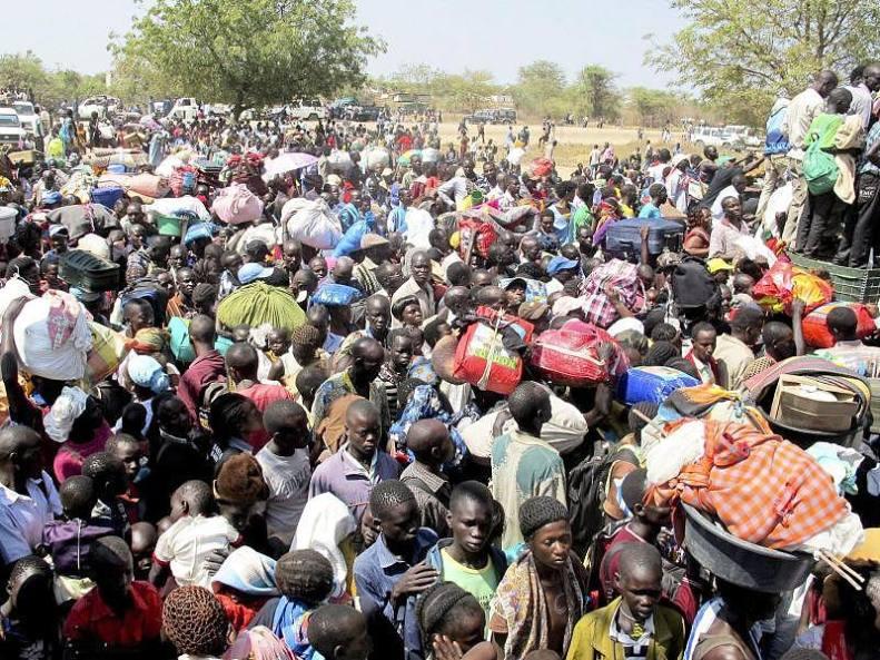 Flüchtlinge aus dem Sudan