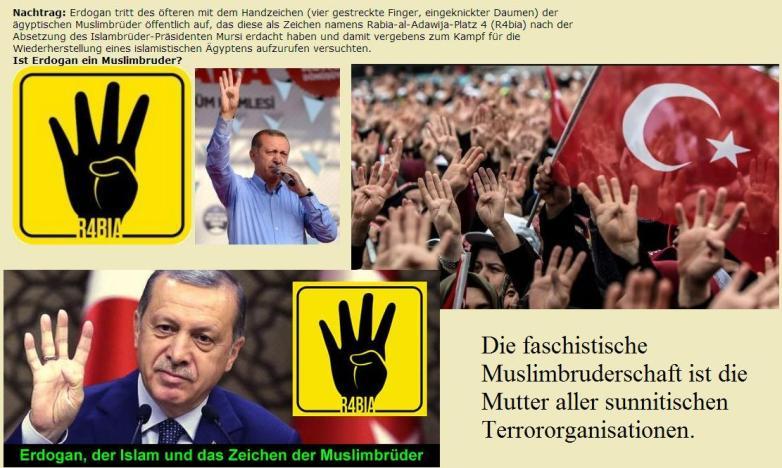 Bildergebnis für erdogan und muslimbruderschaft